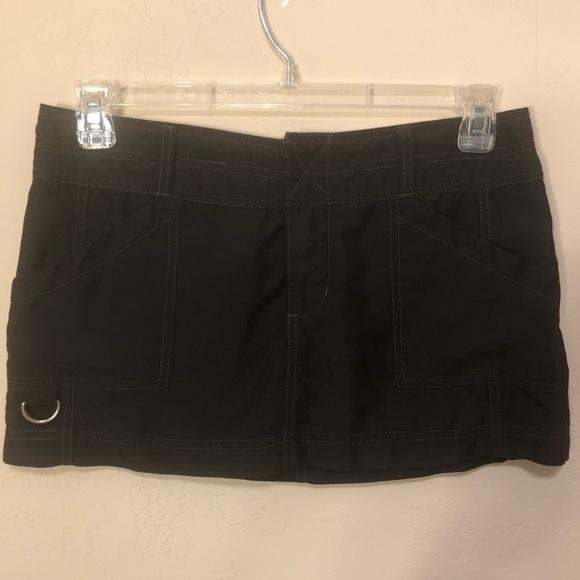Roxy Other - Roxy Velcro Pocketed Black Swim Skirt